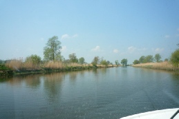 Norfolk Broads River Scene